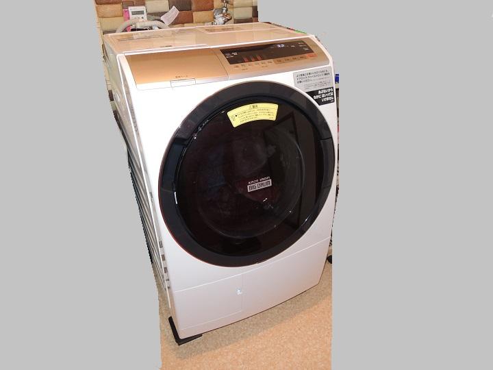 ドラム式洗濯機 日立ビッグドラム 乾燥 電気代