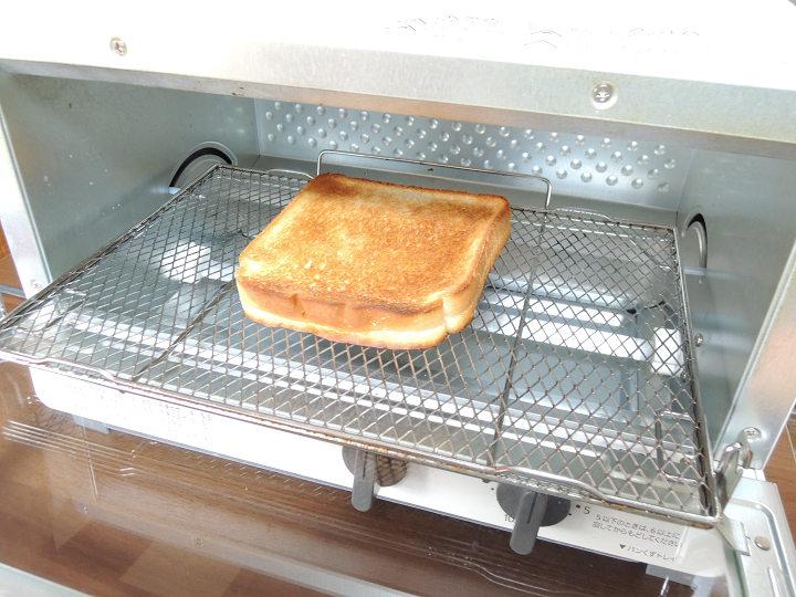 オーブントースター パン 1枚 焼き加減