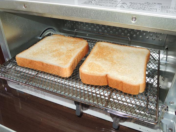 オーブントースター パン 2枚 焼き加減